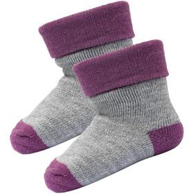 Devold Teddy Socks 2 Pack, peony